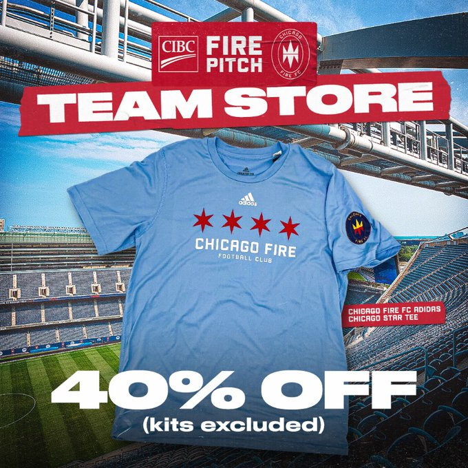 CIBC FIRE PITCH TEAM STORE - 40% OFF (KITS EXCLUDED)