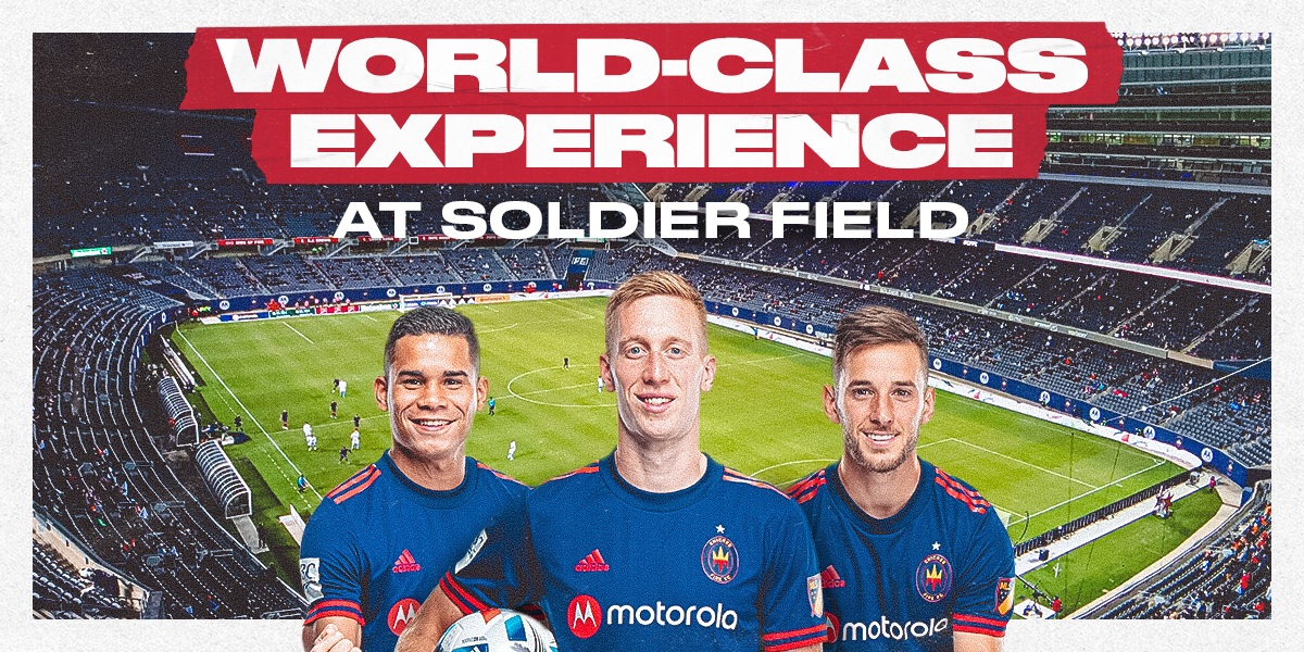 A WORLD-CLASS EXPERIENCE AT SOLDIER FIELD