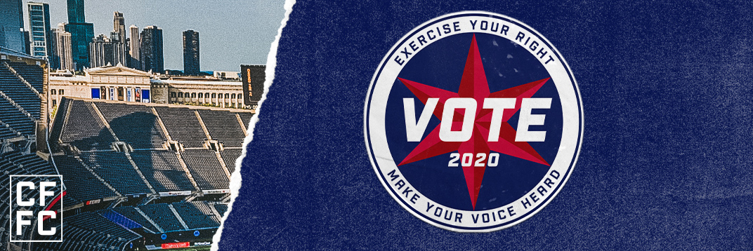 CFFC | VOTE 2020 - EXERCISE YOUR RIGHT // MAKE YOUR VOICE HEARD