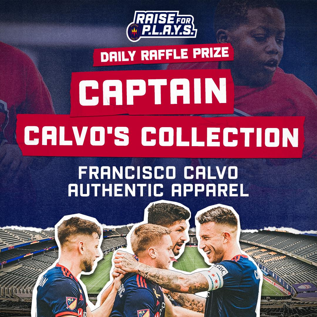 RAISE FOR P.L.A.Y.S. DAILY RAFFLE PRIZE | CAPTAIN CALVO'S COLLECTION - FRANCISCO CALVO AUTHENTIC APPAREL