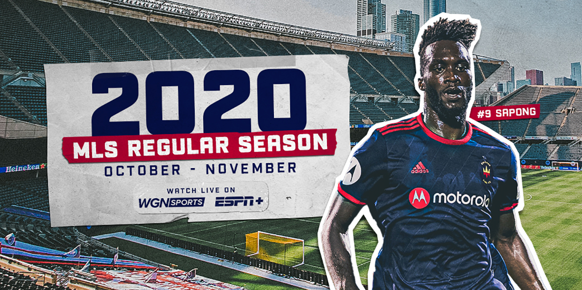 2020 MLS REGULAR SEASON | OCTOBER - NOVEMBER | WATCH LIVE ON WGN SPORTS AND ESPN+
