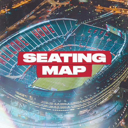 SOLDIER FIELD SEATING MAP