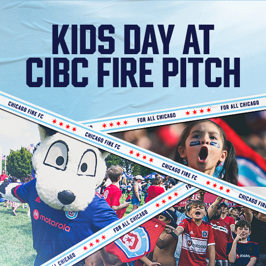 KIDS DAY AT CIBC FIRE PITCH