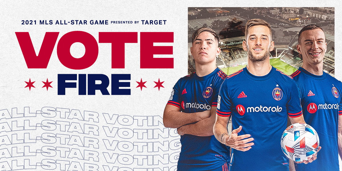 2021 MLS ALL-STAR GAME PRESENTED BY TARGET - VOTE FIRE