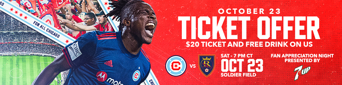 OCTOBER 23 TICKET OFFER -- $20 TICKET AND FREE DRINK ON US -- FAN APPRECIATION NIGHT PRESENTED BY 7 UP